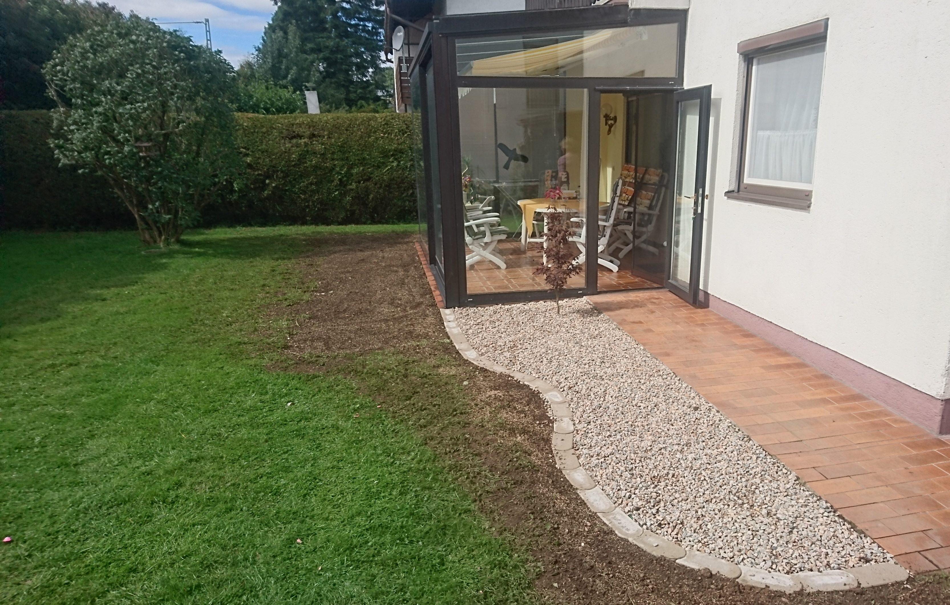 Garten- und Landschaftsbau mit Terrasse